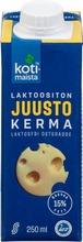 Kotimaista Laktoositon Juustolla Maustettu Ruokakerma 15% 250Ml