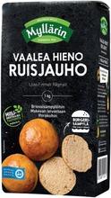 Myllärin Vaalea Hieno Ruisjauho 1 Kg