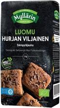 Myllärin 1Kg Luomu Hurjan Viljainen Sämpyläjauho