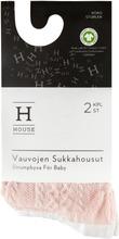House Vauvojen Sukkahousut 2-Pack 234Nos2115