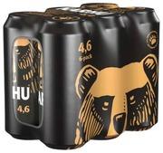 1X 6-Pack Karhu Lager Olut 4,6% Tölkki 0,5 L