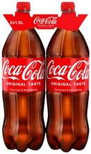 2-Pack Coca-Cola Original Taste Virvoitusjuoma Muovipullo 1,5 L