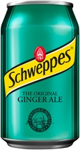 Schweppes Ginger Ale Virvoitusjuoma Tölkki 0,33 L