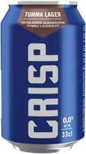Crisp Alkoholiton Tumma Lager  Olut 0 % Tölkki 0,33 L