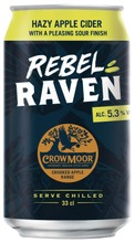 Crowmoor Rebel Raven 5,3% 33 Cl Tlk