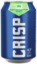 Crisp  Alkoholiton Ipa Olut 0,5 % Tölkki 0,33 L