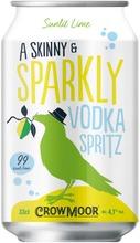 Crowmoor Vodka Spritz Sunlit Lime 4,1% Tölkki 0,33L