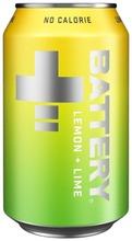 Battery No Calorie Sitruuna-Lime Energiajuoma Tölkki 0,33 L