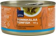 Tonnikalaa Currykastikkeessa