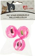 Pet Star Kissanlelu Pallo Kellolla