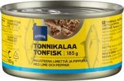Tonnikalaa, Mausteena Limettiä Ja Pippuria