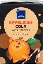 Rainbow 2dl appelsiini-colajuoma