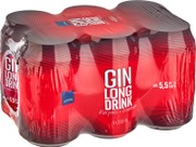 6 x Rainbow Karpalo Gin lonkero 5,5% 0,33 l tlk