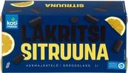 Kotimaista Kermajäätelö Kotipakkaus Sitruuna-Lakritsi 1L/522G