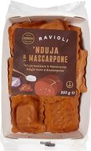 Herkku 250g ravioli 'nduja-makkara ja mascarpone