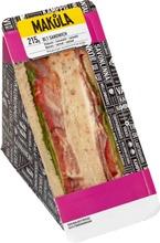 Makula 215G Pekoni-Tomaatti-Salaattitäyteleipä
