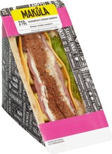 Makula 210G Naudanpaisti-Cheddar Sandwich