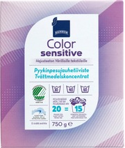 Detergent color sensitive