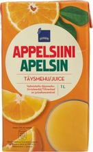 Appelsiinitäysmehu 1l