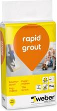 Weber Rapid Grout Saumalaasti 20 Graphite 15 Kg
