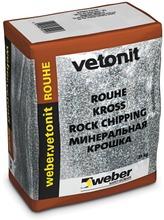 Weber Vetonit Sr3 Rouhe Punainen Graniitti 25 Kg