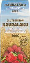 Lakumesta Oy Gluteeniton Kauralaku Mansikkavalkosuklaalla 100G
