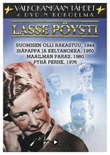Valkokankaan Tähdet: Lasse Pöysti 4Dvd