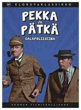 Dvd Pekka Ja Pätkä Salapoliiseina
