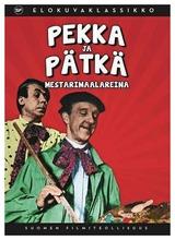 Pekka Ja Pätkä Mestarimaalareina Dvd