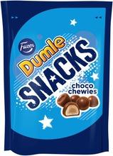 Dumle Snacks Choco Chewies Toffeekarkkipussi 150G