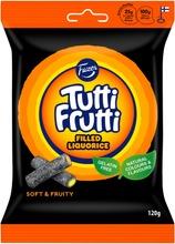 Fazer Tutti Frutti Filled Liquorice Karkkipussi 120 G