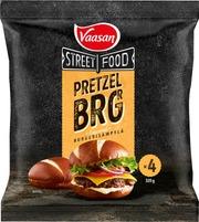 Vaasan Street Food The Pretzel Brgr 4X80g/80G Pakaste