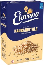 Elovena 1Kg Täysjyvä Kaurahiutale