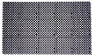 Plast-Turf Palaruohomatto 43X71cm Tummanharmaa