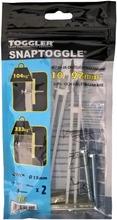 Toggler Snaptoggle Bm6-2 Kipsi- Ja Onteloseinäkiinnike 10-92Mm Levyille M6 2Kpl   Pultit