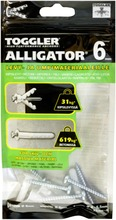 Toggler Alligator Af6-5 Kiinnike Laipalla 6Mm 5Kpl   Ruuvit