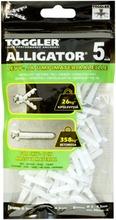 Toggler Alligator Af5-100 Kiinnike 5Mm Laipalla 100Kpl