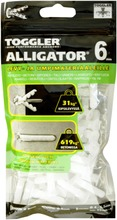 Toggler Alligator Af6-100 Kiinnike 6Mm Laipalla 100Kpl