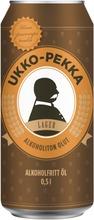 Ukko-Pekka Alkoholiton Olut 0,5L. Alkoholipitoisuus <0,5 Til.-%.