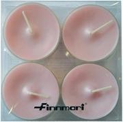 Finnmari Maxi Muovilämpökynttilä 4 Kpl, Vaaleanpunainen