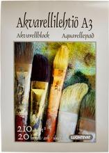Luontevat Akvarellilehtiö A3 20 Lehteä