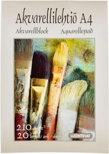 Luontevat Akvarellilehtiö A4 20 Lehteä
