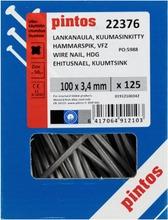 Pintos Lankanaula 100X3,4mm Kuumasinkitty 125Kpl