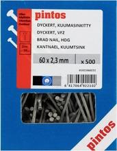 Pintos Dyckert-Naula 60X2,3mm Kuumasinkitty 500Kpl