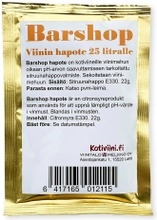 Barshop Viinin Hapote 25 Litralle Kotiviiniä, Sitruunahappo 22G