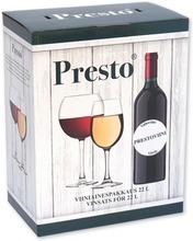 Presto Cabinet Blanc Viiniainespakkaus 22 Litralle Valkoviiniä