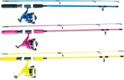 Kid-Spin Avokelasetti, Useita Värejä 150Cm