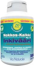 Nokkos-Kalkki Inkivääri Vihersimpukka 200Tabl - Ravintolisä Nivelille