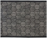 Lapuan Kankurit Paanu pefletti musta pellava-puuvilla 48x60cm