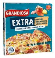 Grandiosa Extra Pepperoni, Sinihomejuusto, Ananas Ja Kinkku Kiviuunipizza 400G